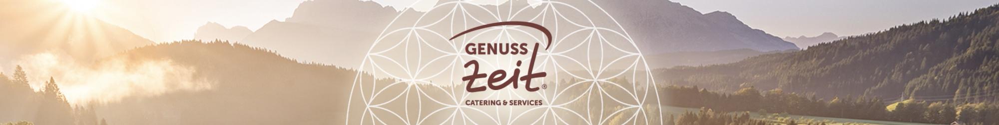 GenussZeit Logo, Titelbild für Kaffee und Unternehmenskultur