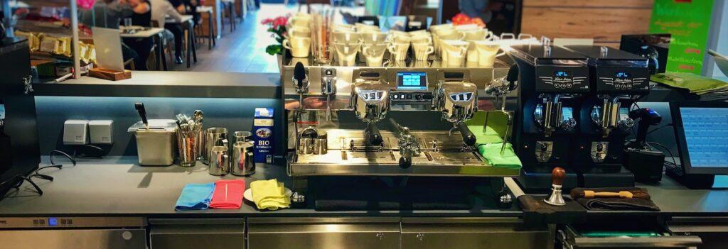 Eine Kaffee Bar als Zentrum der Unternehmenskultur