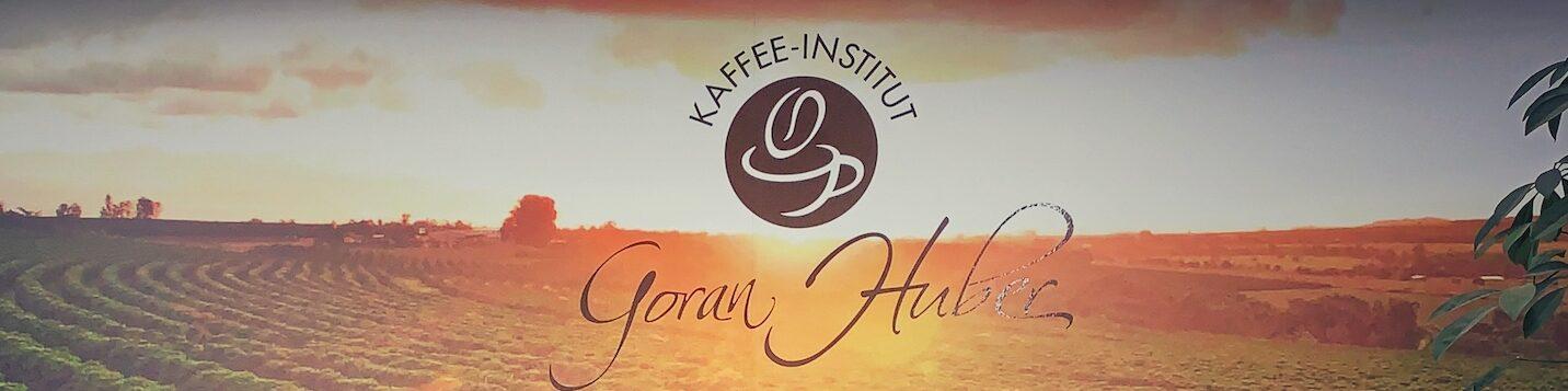 Logo vom Kaffee Institut Goran Huber, Ort meiner Barista Ausbildung