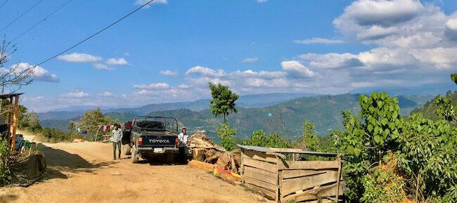 Ein Ort in Guatemala, Nachhaltigkeit ist hier ein wichtiges Thema, aber nicht von jedem Kaffee Produzenten umsetzbar.
